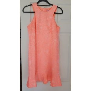 Lilli Pulitzer Size 4 orange sherbet dress